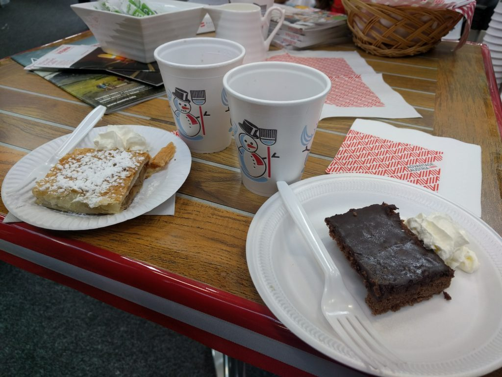 Sachertorte and Apfelstrudel