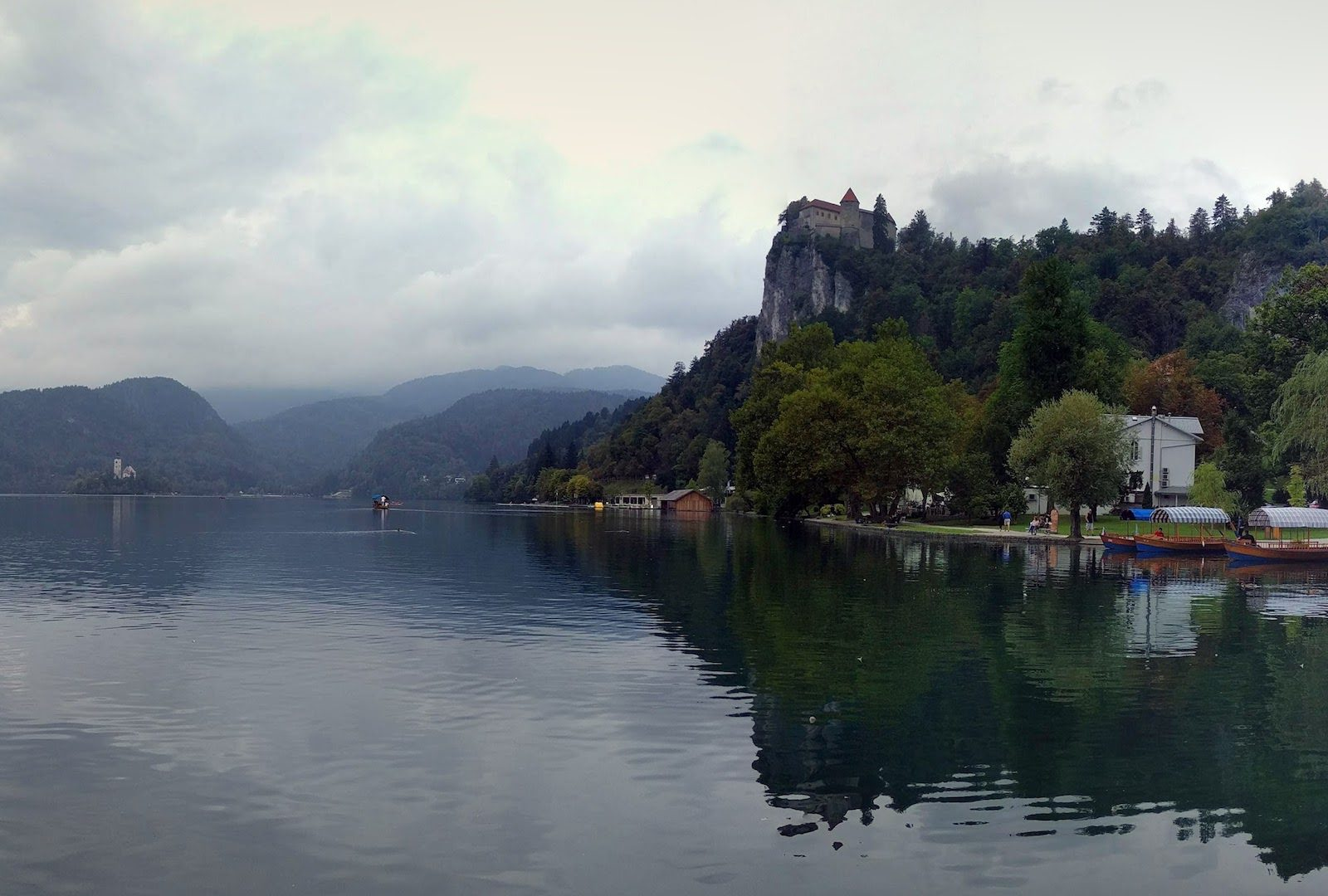 The idyllic village of Bled