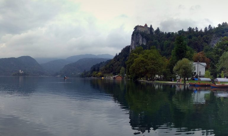 Village and Lake Bled