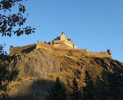 Edinburgh Castle or is it Hogwarts?
